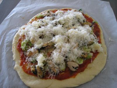 Pizza marinara aux moules à l'italienne - 18.1