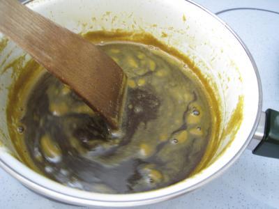 Panna cotta vanille et sauce caramel à l'orange - 6.3