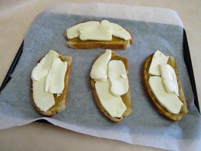 Croûtes à la mozzarella et aux oignons - 3.3