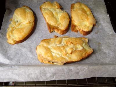 Croûtes à la mozzarella et aux oignons - 4.2