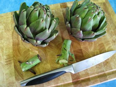 Légumes vapeur (artichauts, brocolis, carottes, fenouil) - 4.4