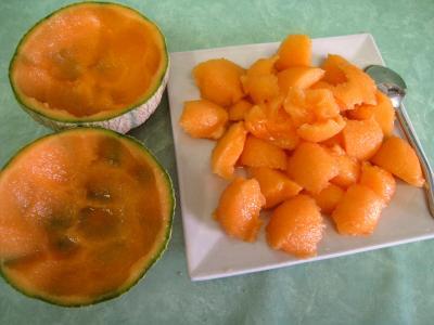 Melon glacé à la liqueur de Chartreuse - 2.2