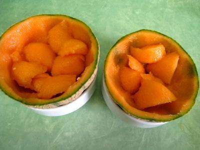 Melon glacé à la liqueur de Chartreuse - 4.2