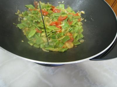 Moules crèmées aux haricots plats - 8.1