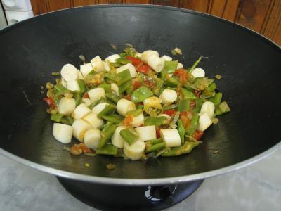 Moules crèmées aux haricots plats - 9.2