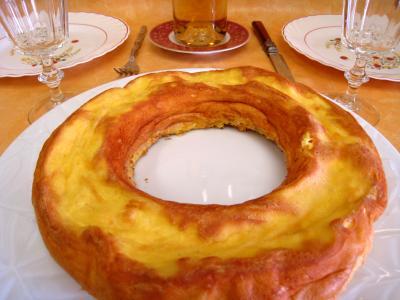 Cuisine diététique : Couronne d'oeufs Antoinette