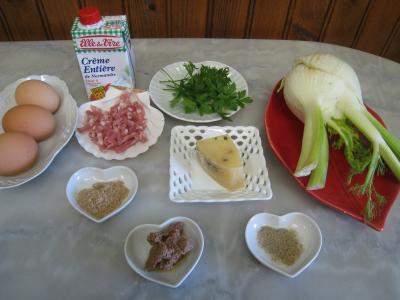 Ingrédients pour la recette : Oeufs durs sauce moutarde