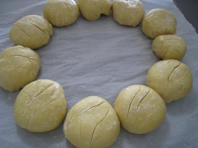 Pain au beurre en couronne façon antillaise - 8.1