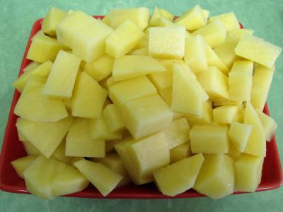 Pommes de terre et saumon en salade - 1.4