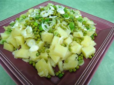 Pommes de terre et saumon en salade - 10.1