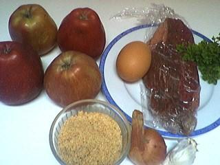 Ingrédients pour la recette : Pommes farcies