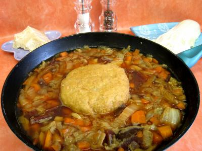 Potage chou chinois et sa boulette de porc - 12.3