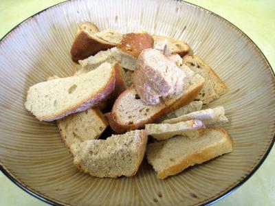 Pouding à la mozzarella et sa sauce aux champignons - 3.2