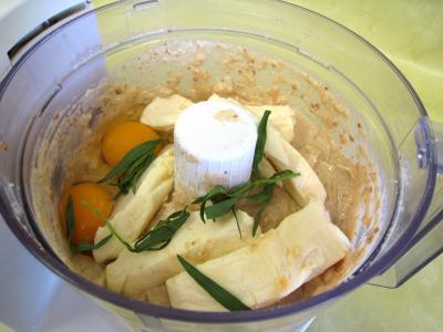 Pouding à la mozzarella et sa sauce aux champignons - 4.4