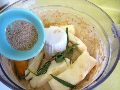 Pouding à la mozzarella et sa sauce aux champignons - 5.2
