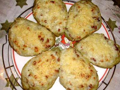 Recette Assiette de chayottes gratinées à la réunionnaise