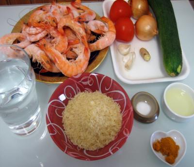 Ingrédients pour la recette : Crevettes à la Réunionnaise