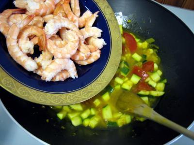Crevettes à la Réunionnaise - 7.2