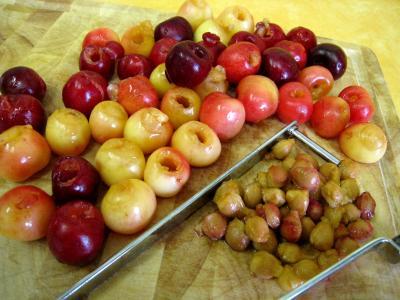 Quatre-quarts aux abricots et aux cerises - 2.2