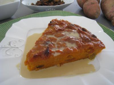 Recette Gâteau de patates douces à la réunionnaise