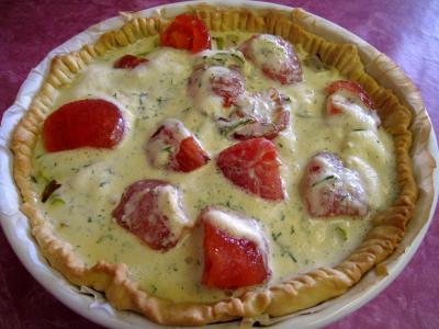 Quiche aux tomates et au gorgonzola façon italienne - 11.2