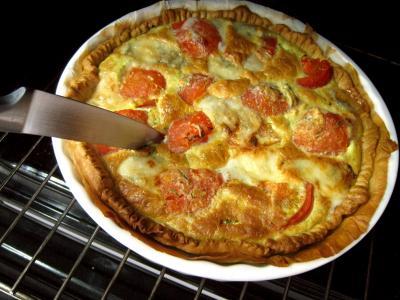 Quiche aux tomates et au gorgonzola façon italienne - 12.2