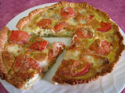 Quiche aux tomates et au gorgonzola façon italienne - 12.4