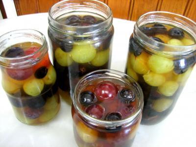 Recette Raisins au vinaigre parfumé