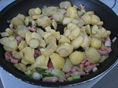Salade de pissenlits au lard à l'ardennaise - 7.2