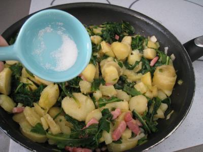 Salade de pissenlits au lard à l'ardennaise - 8.2