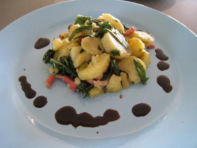 Salade de pissenlits au lard à l'ardennaise - 9.2