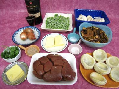 Ingrédients pour la recette : Rognons de veau sautés aux cèpes et ses fonds d'artichauts