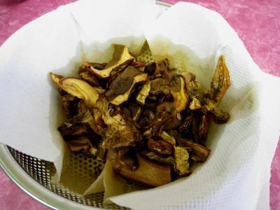Rognons de veau sautés aux cèpes et ses fonds d'artichauts - 4.2
