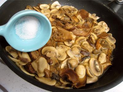 Rognons de veau sautés aux cèpes et ses fonds d'artichauts - 10.1