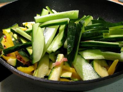 Sauté de légumes et ses oeufs au bain-marie - 7.1