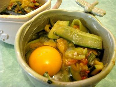 Sauté de légumes et ses oeufs au bain-marie - 9.2