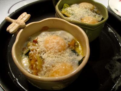 Sauté de légumes et ses oeufs au bain-marie - 12.1