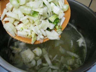 Soupe de morue aux champignons - 9.2