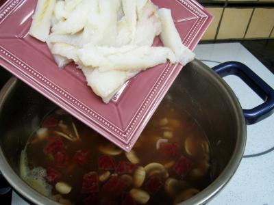Soupe de morue aux champignons - 12.1