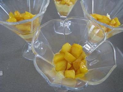Mascarpone à la noix de coco et mangue - 9.2