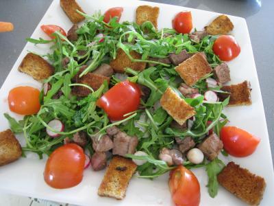 Salade d'asperges et crudités - 9.3