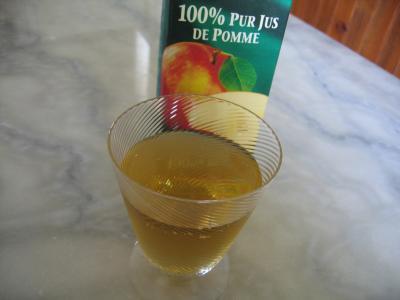 Cocktail sans alcool aux pommes pour diabétiques - 4.2