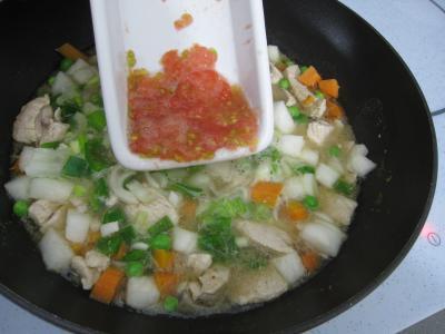 Pâtes complètes aux carottes et légumes pour diabétiques - 9.3