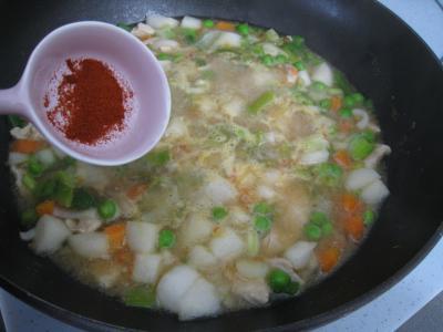 Pâtes complètes aux carottes et légumes pour diabétiques - 10.3