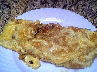 Recette Assiette d'omelette d'ognasses à la landaise