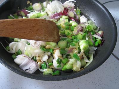 Ognasses au riz, asperges et agneau pour diabétiques - 8.1