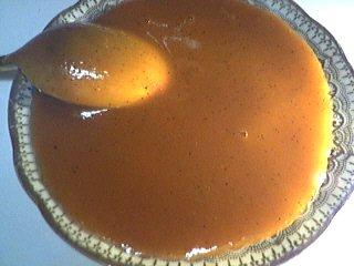 gousse de vanille : Coupelle de confiture de lait