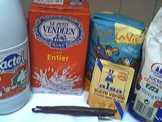 Ingrédients pour la recette : Confiture de lait