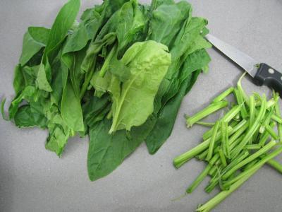 Polenta aux ognasses, aux épinards et aux asperges - 4.1
