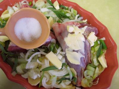 Souris d'agneau aux pommes de terre et aux oignons - 6.1